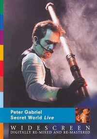Cover Peter Gabriel - Secret World Live [DVD]